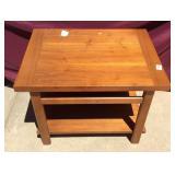 Lane Mid Century Style Mahogany End Table