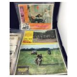 Packages of Old Magazine Ads and More