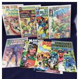 Box of 110 Vintage Comics