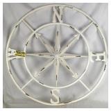 Handmade Metal Compass Rose