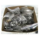 Box of Vintage Radio Tubes Bagged and Labeled