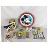Selection of Vintage Mickey Mouse Collectibles
