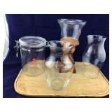 4 Miscellaneous Glass/Plastic Decorative Items