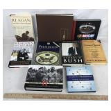 Collection of 9 Books on Presidents & History