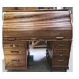 Winners Only Inc. Oak Rolltop Desk