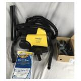 Eureka Vacuum Cleaner + Attachments/Vacuum Bags