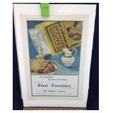 1911 Post Toasties Magazine Advertisement