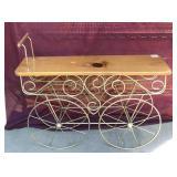 Wood and Metal 'Cart
