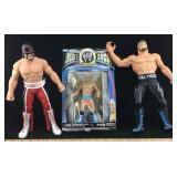 Lot of Vintage Wrestling Action Figures