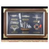 Framed Nautical Art