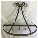 Vintage Metal Pots/Pans Kitchen Hooks