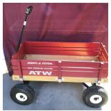 Wooden Radio Flyer All Terrain Wagon