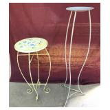 Wood / Metal Plant Stands