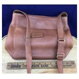Older Leather Tobacco Brown Coach Purse