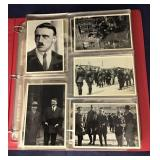 Binder With Numerous Photos Of Adolf Hitler And