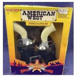 Tootsie Toy American West Cap Pistols And