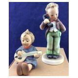 Hummel W Germany Little Girl & Little Boy