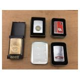 4 Boxed Zippo Lighters