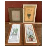 Flower Artwork Prints & Picture Frame