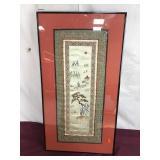 Oriental Fabric Artwork
