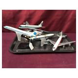 Four Commercial Airline Models- TWA Is Metal,