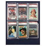 Six Sports Cards- Mahomes, Jordan, Schmidt,