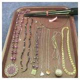 Crystal Necklaces & More + Sterling Ring