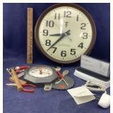 3 Wall & Desk Clocks