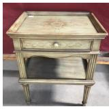 Vintage Broyhill Provincial Style End Table