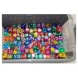 Box Of Dice, Many Sizes & Colors