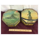 Antique Tins from Loose Wiles Biscuit Company