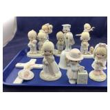 Large Lot of Precious Moments Figurines
