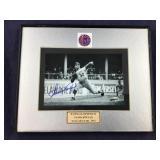 Sandy Koufax Signed 8 X 10 Framed Photo With COA