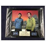 Star Trek Shatner & Nimoy Signed 11 X 14 Matted