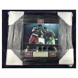 Muhammad Ali & Joe Frazier Signed 16 X 20 Framed