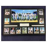 500 HR Hitters Club Signed 8 X 16 Framed Photo