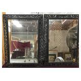 Pair of Very Ornate Mirrors