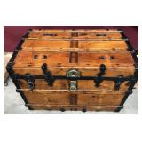 Phenomenal Refurbished Antique Trunk In/Out
