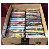 Box With About 73 DVD