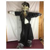 6 Foot Skeleton Scarecrow