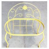 Iron Wire Fernery Loveseat Planter