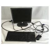 Computer Monitor/Keyboard/Mouse VGA+Powercable