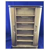 18 Inch Tall 5 Drawer Jewelry Box/Contents
