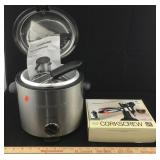 Farberware Deep Fryer & Corkscrew Bottle Opener