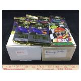 Boxes of Vintage Racing Trading Cards