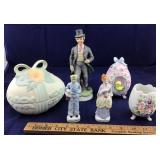 Vintage Bisque and China Eggs and Statues