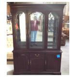 Ethan Allen Cherry China Cabinet