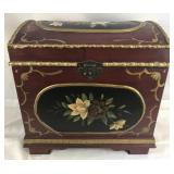 Wooden Hand Painted Ornate Chest
