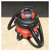 Nearly new Craftsman wet dry shop vacuum