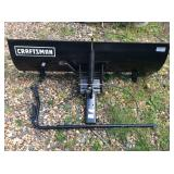 Craftsman riding mower snow blade
